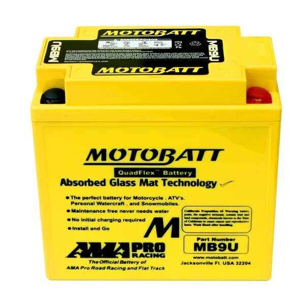 Motobatt MB9U YB9LA Battery