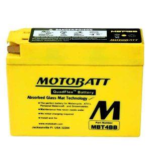 Motobatt MBT4BB YT4BBS Battery