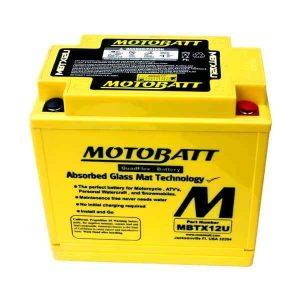 Motobatt MBTX12U YTX12BS Battery