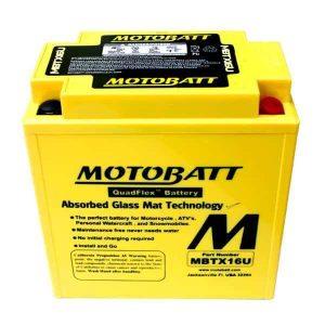 Motobatt MBTX16U YTX16BS Battery