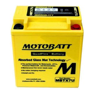 Motobatt MBTX7U YTX7LBS Battery