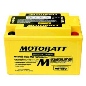 Motobatt MBTX9U YTX9BS Battery
