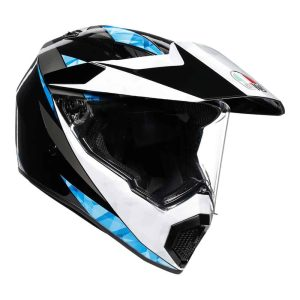AGV AX9 North Black / White / Cyan