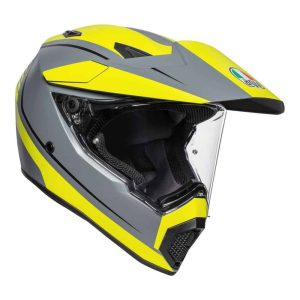 AGV AX9 Pacific Road Grey / Yellow / Black