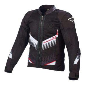Macna Rewind Jacket – Black / White