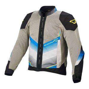 Macna Rewind Jacket – Grey / Black / Blue