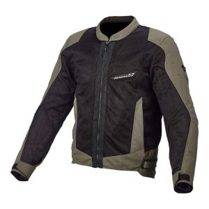 Macna Velocity Jacket – Black / Green