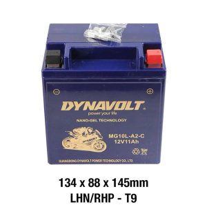 Dynavolt Battery AGM FA Nano Gel: MG10L-A2-C or GB10L-B