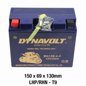 Dynavolt Battery AGM FA Nano Gel: MG12B-4-C or GT12B-4