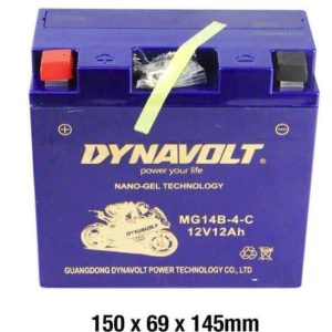 Dynavolt MG14B-4-C Battery 12 Volt NANO-GEL Series