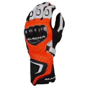Macna Track R Gloves – Red / White / Black