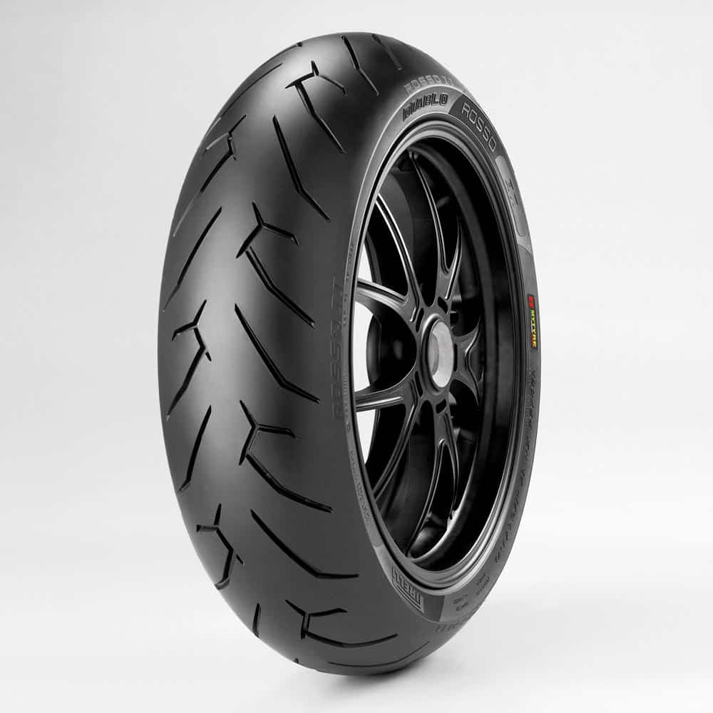 Pirelli Diablo Rosso II 160/60R-17 69H TL (H Rated)
