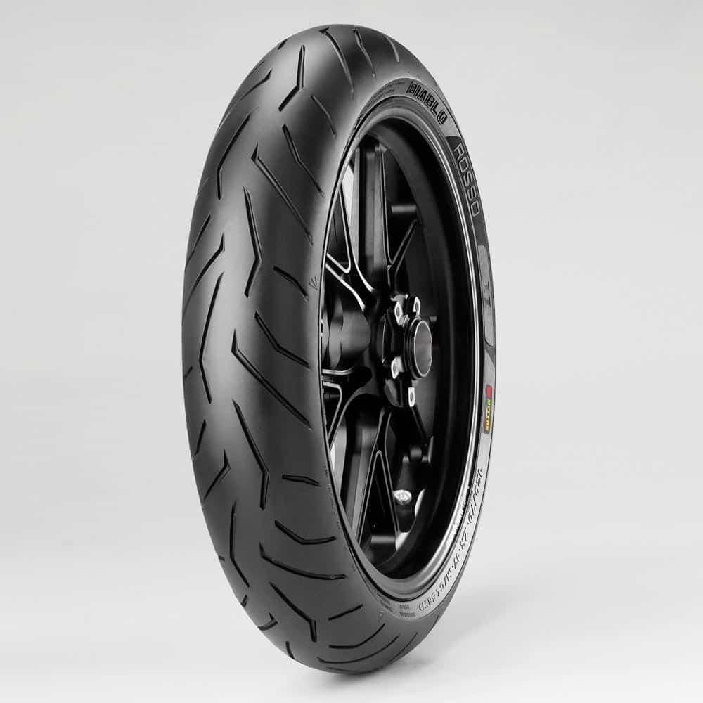 Pirelli Diablo Rosso II Front (K) 120/70ZR-17 (58W) TL
