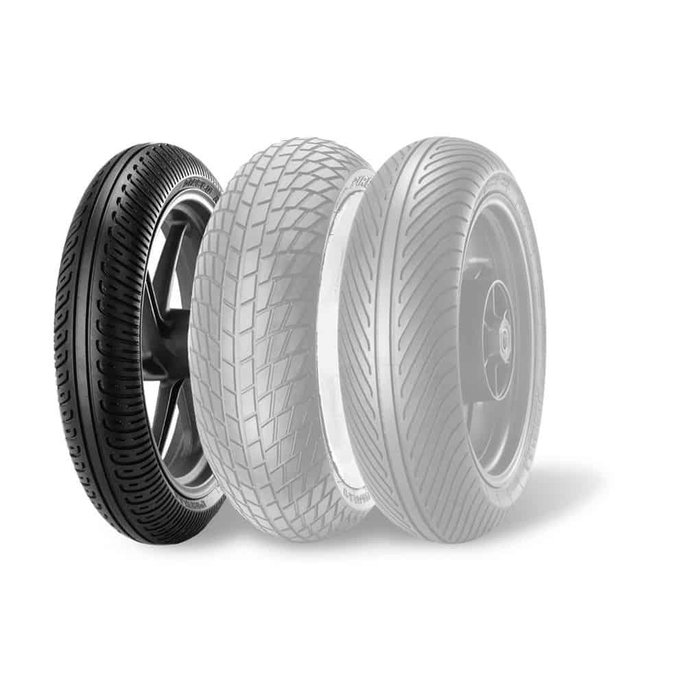 Pirelli Diablo Rain Front SCR1 120/70R-17 NHS TL