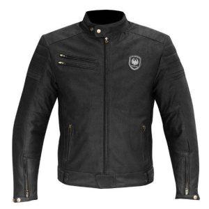 Merlin Alton Men's Leather Jacket Black