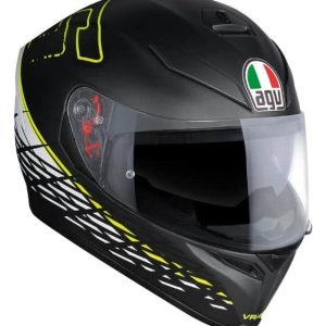 AGV K-5 S Thorn 46 Matt Black Helmet
