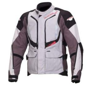 Macna Vosges Jacket – Ivory / Grey / Black