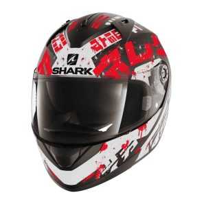 Shark Ridill Kengal Mat Black / White / Red