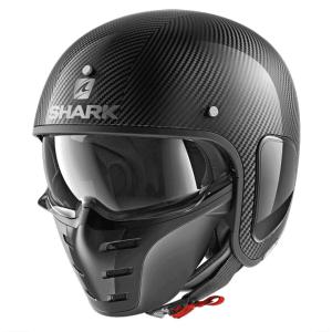 Shark S-Drak Carbon Skin DSK Helmet – Black