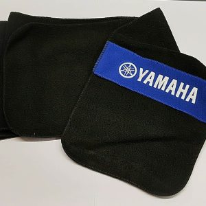 Yamaha Fleece Scarf – Black