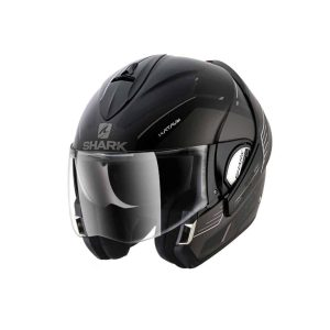 Shark Evoline 3 Hataum HV Black Convertible Helmet