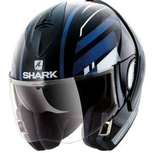 Shark Evoline 3 Corvus KWB Convertible Helmet