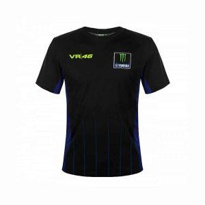 Yamaha VR46 Men's Black T-Shirt