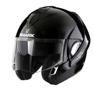 Shark Evoline 3 Black Convertible Helmet