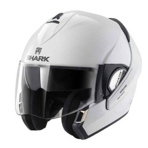 Shark Evoline 3 White Convertible Helmet