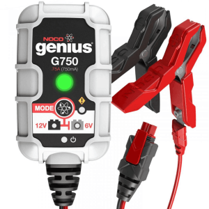 Noco Genius G750 Battery Charger for Lead Acid 6 & 12V Batteries