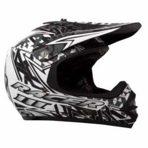 RXT Racer III Kids Helmet – Black / White