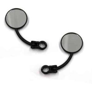 X Tech Enduro Mirror R/H Clamp-on (Black)