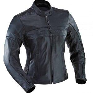 Ixon Crystal Rock Leather Jacket