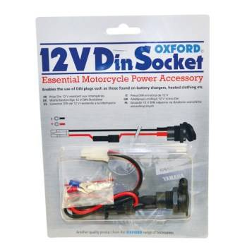 12V Din Socket Motorcycle Power Accessory