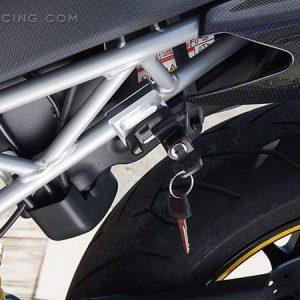 Sato Racing Helmet Lock Ducati HyperMotard (-'12) 848/ 1098/ 1198/ Street Fighter*