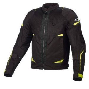 Macna Harracage Jacket – Black / Fluro Yellow