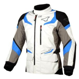 Macna Sektor Jacket – Ivory / Grey / Blue