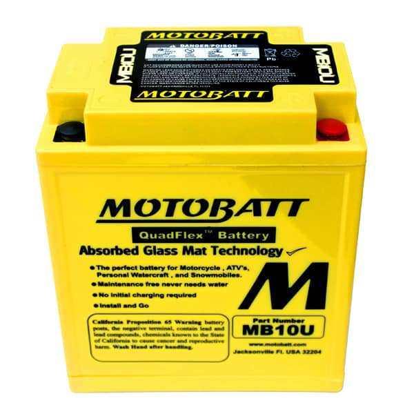 Motobatt MB10U YB10LA2 Battery