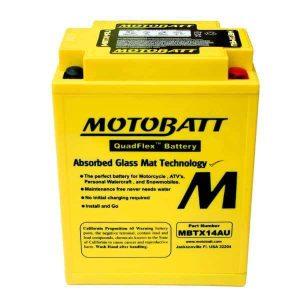 Motobatt MBTX14AU YTX14AH Battery