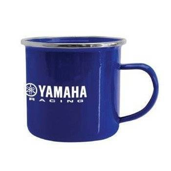 Yamaha Racing Enamel Mug – Blue