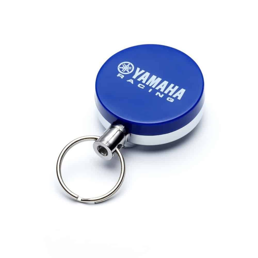 Yamaha Racing Retractable Key Ring – Blue