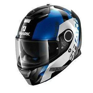 Shark Spartan Apics Helmet – Black / Blue