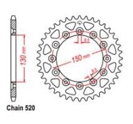 REAR SPROCKET – STEEL 47T 520P D/D