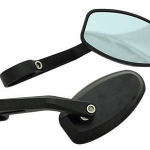 Tarmac Mirrors Speed Racer Black Set