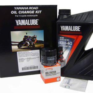 Semi Synthetic 10W40 Road Oil Change Service Kit