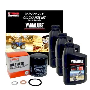 Yamalube 15W50 Mineral Oil & Filter Service Kit – ATV