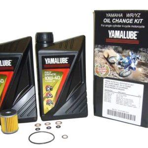 Yamalube YZ/WR Y4-S 10W40 Oil Change Kit