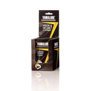 Yamalube Visor & Helmet Cleaner Wipes x10 with Dispenser