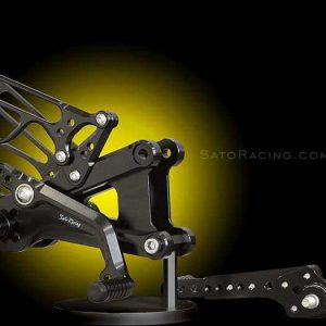 SATO YZF-R6 REAR SETS '06-