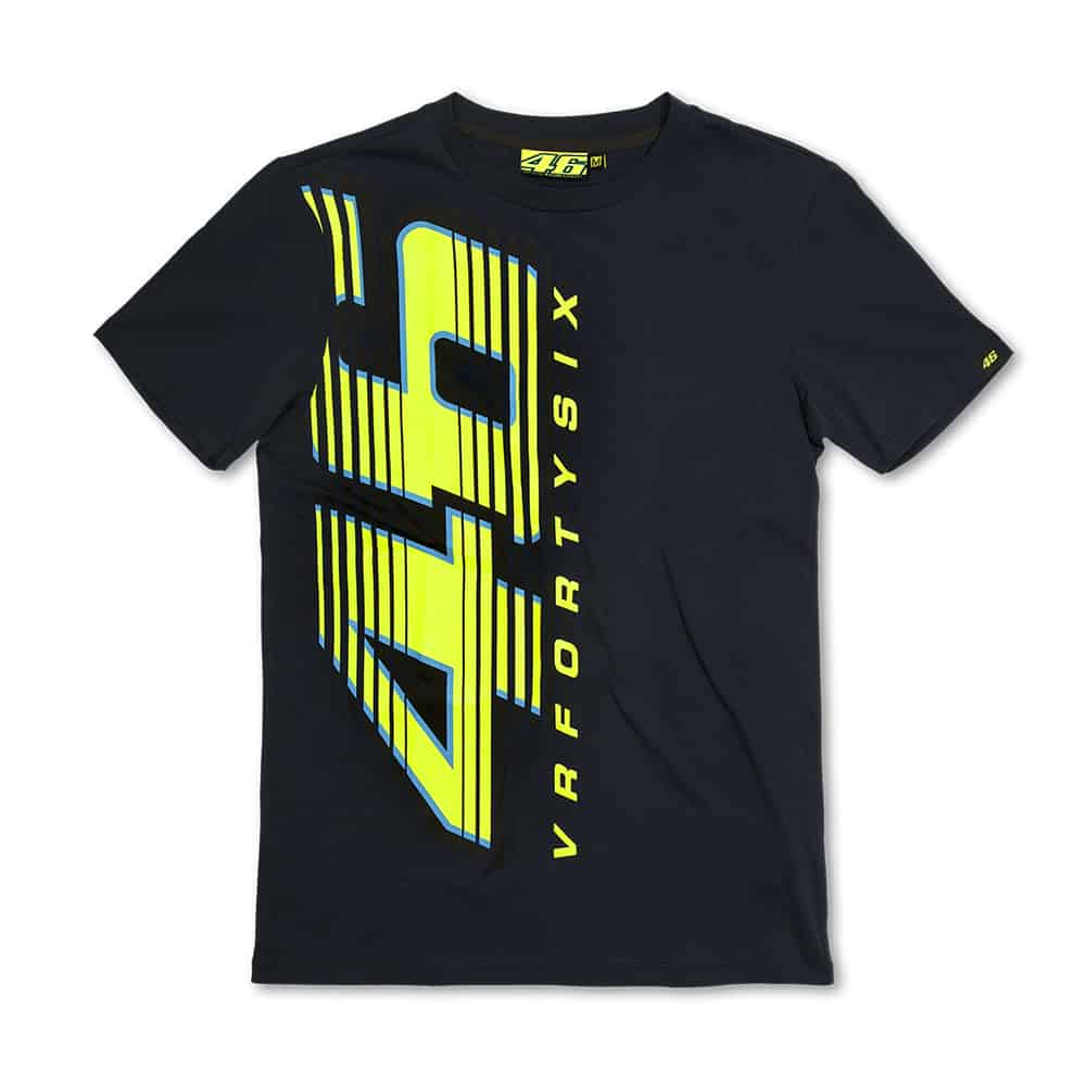 VR46 Forty Six Blue T-Shirt